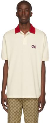 Gucci Off-White GG Polo