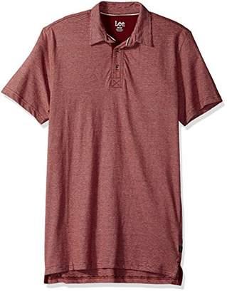 Lee Men's Short Sleeve Super Soft Polo