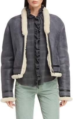 Etoile Isabel Marant Addy Genuine Shearling Jacket