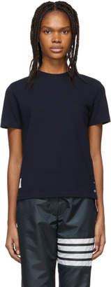 Thom Browne Navy Pique T-Shirt