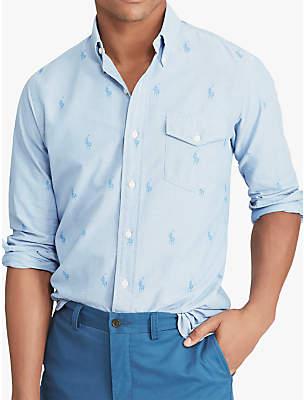 Ralph Lauren Mens Classic Fit Oxford Shirts Shopstyle Uk
