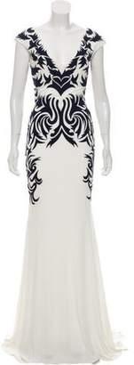Jovani Embroidered Evening Dress