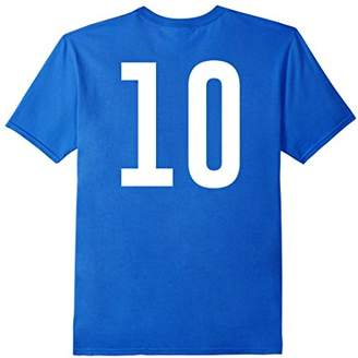 Uniform number 10 Shirt