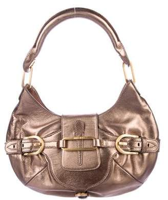 Jimmy Choo Metallic Tulita Hobo