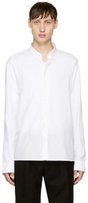 Balmain White Double Weave Shirt