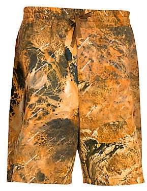 Heron Preston Men's Camo Cargo Shorts