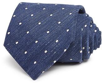 John Varvatos Star USA Melange Dot Classic Tie $98 thestylecure.com