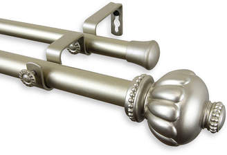 ROD DESYNE Rod Desyne Selma 1 Adjustable Double Curtain Rod