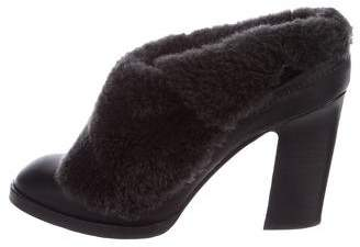 Rag & Bone Shearling Fold-Over Booties sale best store to get 4CrmuHC