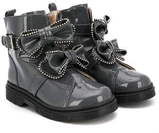 Florens bow-embellished ankle boots