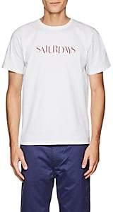 Saturdays NYC Men's Miller Sans Cotton T-Shirt - White