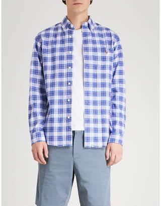 Polo Ralph Lauren Checked slim-fit cotton Oxford shirt