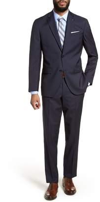 Ted Baker Jay Trim Fit Stripe Wool Suit