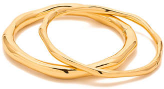 Gorjana Quinn Hinged Bracelets, Set of Two