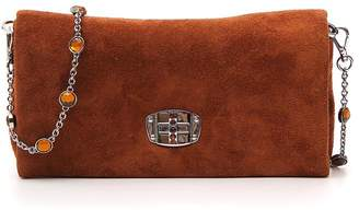 Miu Miu Chain Strap Flap Closure Bag