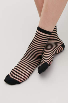 Cos STRIPED SHEER SOCKS
