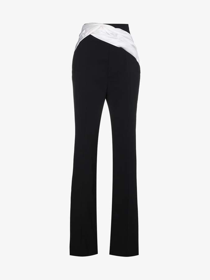 Contrast Sash Trousers