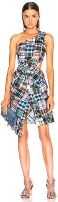 Marques Almeida Marques ' Almeida for FWRD One Shoulder Cut Out Dress