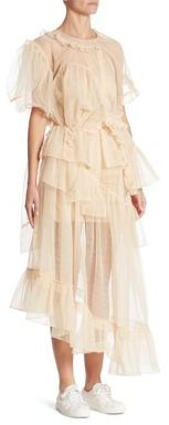 Simone Rocha Deconstructed Tulle Top $995 thestylecure.com