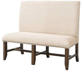 Picket House Furnishings Picket House Francis Fabric Back Bench