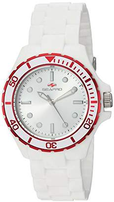 Seapro Women's 'Spring' Quartz Stainless Steel and Silicone Casual Watch