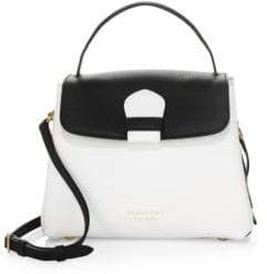 Burberry Camberley Colorblock Leather Satchel