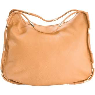 Dkny Camel Leather Handbag