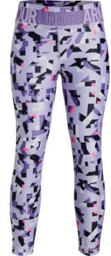 Under Armour Girls' HeatGear Armour Printed Ankle Crop