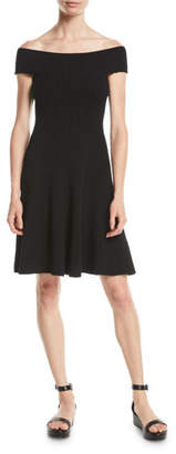 Kate Spade Off-The-Shoulder Sweater Dress