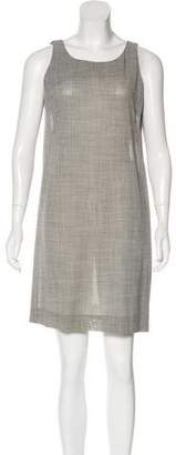 Celine Sleeveless Wool Dress