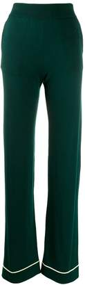 Barrie 3D logo knitted trousers