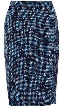 Diane von Furstenberg Printed Cady Skirt