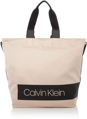 Calvin Klein Block out large shopper tote bag