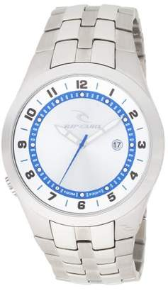 Rip Curl Men's A2373-SIL Beacon Stainless Steel Silver Watch
