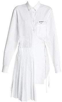 Off-White Women's Wrapped Panel Asymmetric Shirt