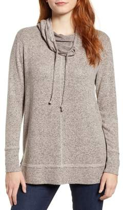Caslon Cowl Hood Pullover