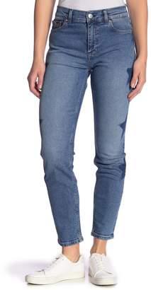 Tommy Jeans Slim Izzy Star Straight Leg Jeans