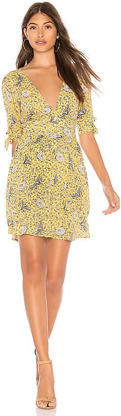 AUGUSTE X REVOLVE Valentina Crop Sleeve Mini Dress