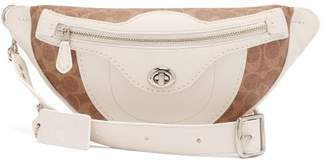 Coach Matty Bovan X Matty Bovan Signature Canvas Belt Bag - Womens - White Multi