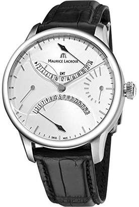 Maurice Lacroix Men's MasterPiece Automatic GMT Genuine Alligator