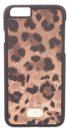 Dolce & Gabbana Animal Print Phone Case