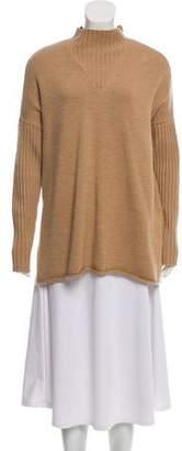 Tory Burch Mock Neck Wool Sweater