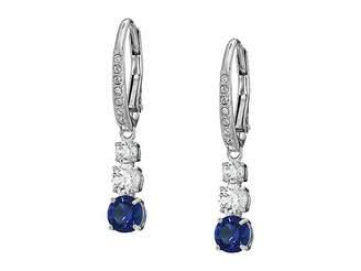 Swarovski Attract Trilogy Round Pierced Earrings