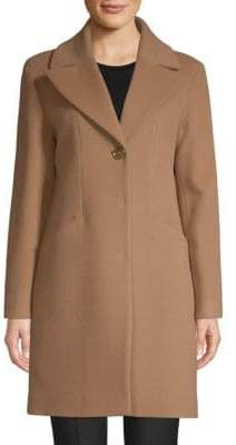 Cinzia Rocca Notch Collar Walker Coat