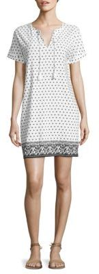 Vineyard Vines Printed Linen Blend Tunic $148 thestylecure.com