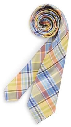 Nordstrom Madras Plaid Silk Tie