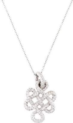 Diane von Furstenberg by H. Stern 18K Signature Knot Pendant Necklace