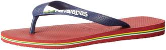 Havaianas Men's Brazil Logo Flip Flops 39/40 (US Men's 7/8) M