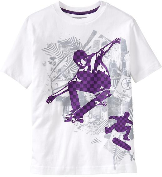 Boys Extreme-Sports Graphic Tees