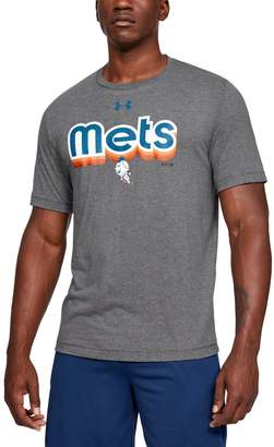 Under Armour Men's MLB UA Tri-Blend Retro Font T-Shirt